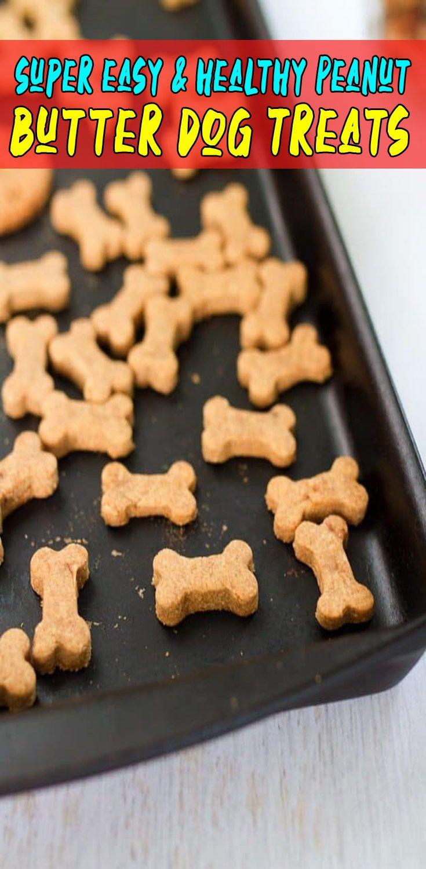 Homemade Peanut Butter Dog Treats Homemade Peanut Butter Dog