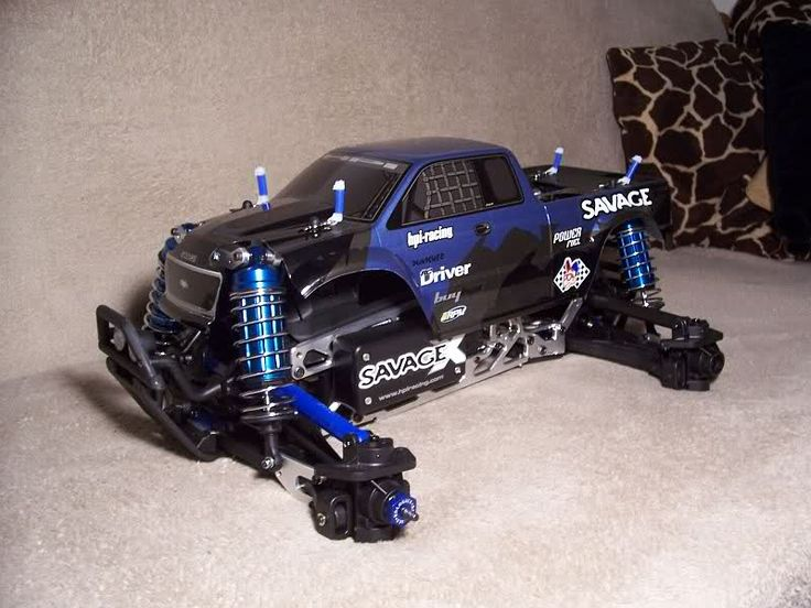 Fully modded HPI Savage X
