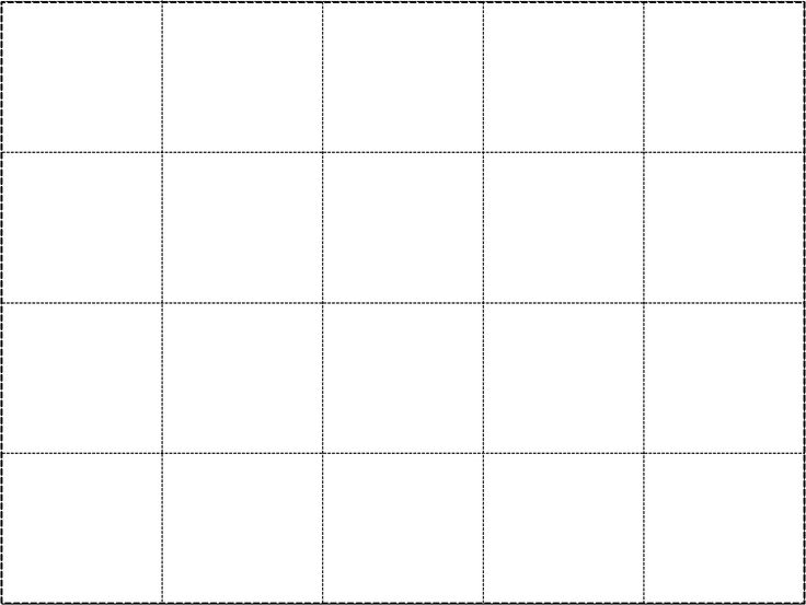 4x5 grid