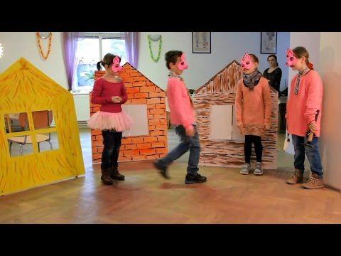 Pohádka O třech prasátkách - Mladecko 2016 - YouTube