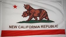 Tinuos New California Republic Flag Banner 3x5