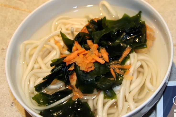 Recette de Tempura Udon aux algues Wakame