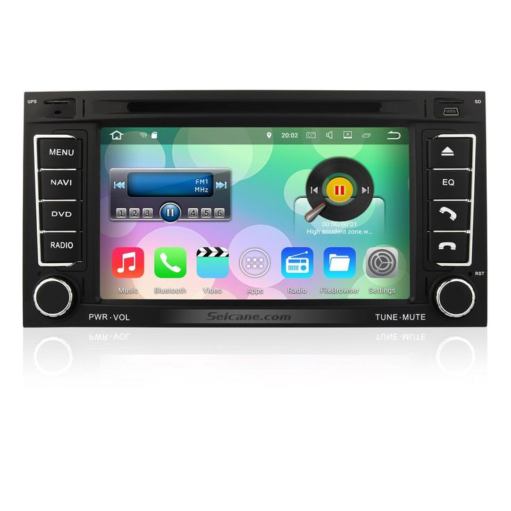 Seicane Android 7.1.1 2003-2014 VW Volkswagen Transporter Radio Bluetooth In Dash Car Navigation System with 3G WiFi