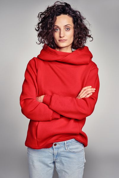 HEAD HUNTER HAPPY RED #hoodies #happy #red #energetic #riskmadeinwarsaw #bluza #kaptur #outfit #fashion #cozy