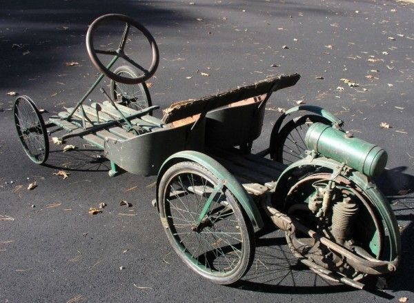 Real Rear Wheel Drive: 1917 Smith Flyer - http://barnfinds.com/real-rear-wheel-drive-1917-smith-flyer/