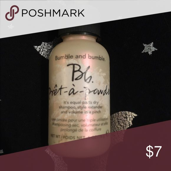 Bumble And Bumble Pret A Powder Dry Shampoo Bumble And Bumble Dry Shampoo Travel Size Products