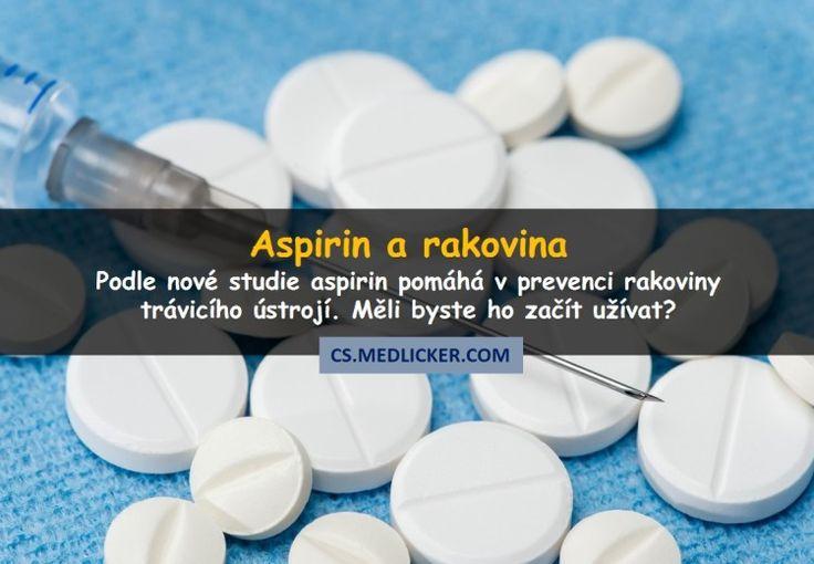 Velká studie naznačuje, že nízké dávky aspirinu pomáhají snížit riziko některých druhů rakoviny. Ale doktoři varují, že to neznamená, že bychom měli hned začít všichni aspirin užívat.