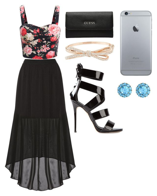 open night by dj-eyecandy on Polyvore featuring Alice + Olivia, Giuseppe Zanotti, GUESS, Kate Spade and Color My Life