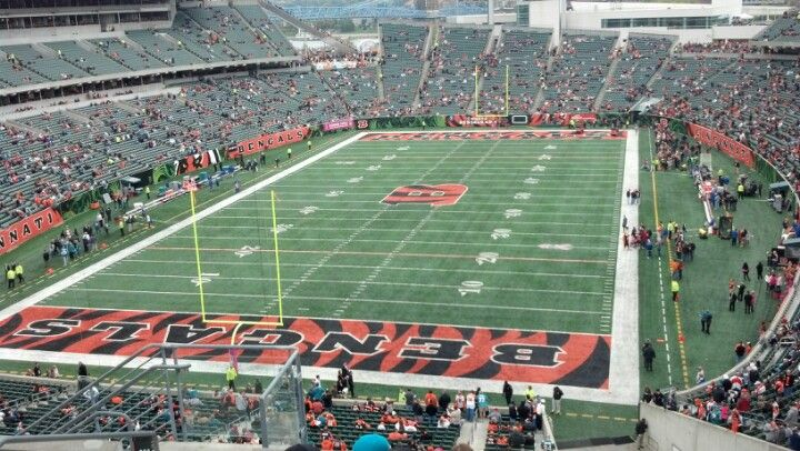We love our Bengals! Paul Brown Stadium in Cincinnati, OH