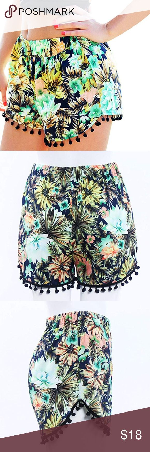 Mini Beach Shorts Summer Shorts STAY COOL – The lightweight rayon fabric allows …