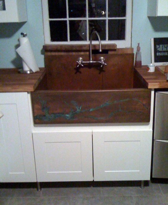 Copper Corner Sink : copper sink corner - Google Search A Home Perfected Pinterest