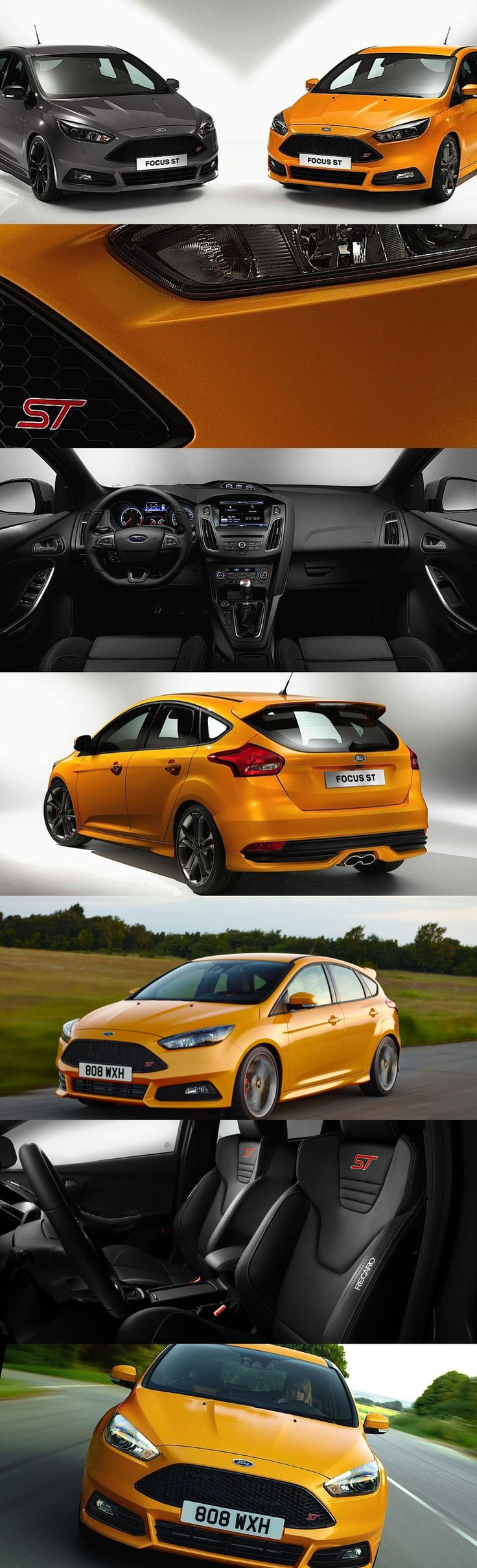 Ford Focus ST Engineering Excitement - After making its first showing at the Goodwood Festival of Speed, the New ford Focus ST is here. Ready to satisfy enthusiastic drivers with an exceptional and rewarding driving experience.   DNA has been advanced with upgrades to the power train, suspension, steering and the onboard electronic control systems. The Ford RS team have taken it all one just step further with this model.  #fordfocus #rs #focusst #newfordfocus #newcars #drive