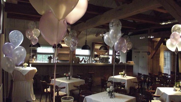 19 beste afbeeldingen van ballonnen huwelijk for Ballonnen tafels