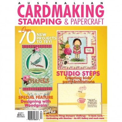 Cardmaking, Stamping & Papercraft - Volume 19 No.2 (Just $1.95). Find out more at: http://www.patchworkandcraft.com.au/digital-magazines/cardmaking-stamping-papercraft-volume-19-no-2.html
