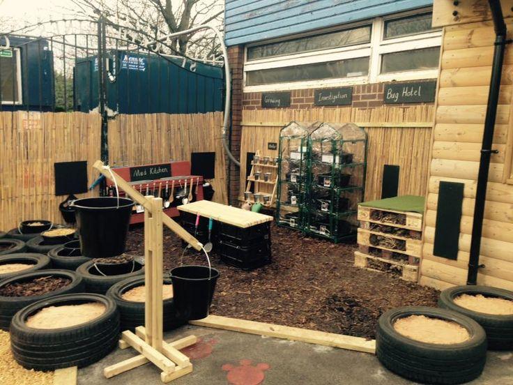 Classroom Garden Ideas ~ Best preschool outdoor garden ideas images on pinterest