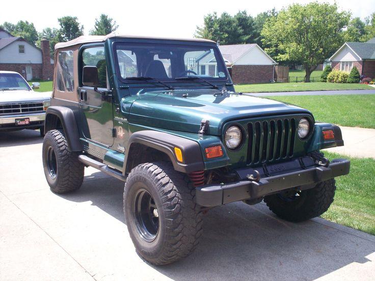 2000 Jeep Wrangler Sahara 2000 jeep wrangler, Jeep