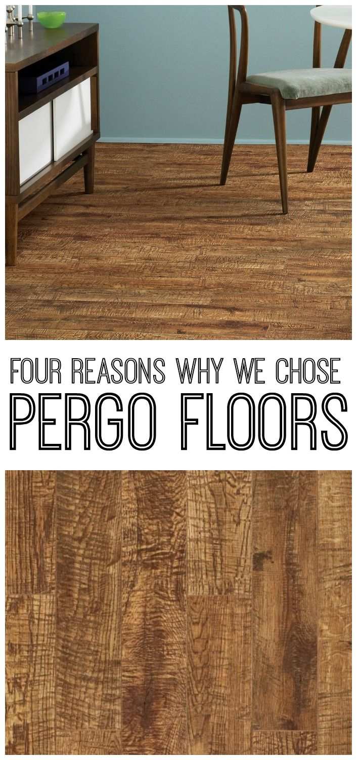 Why we chose pergo flooring flooring floors and we for Why laminate flooring