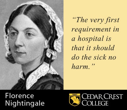20 quotes on nursing and life from the 'Lady with the Lamp', Florence Nightingale