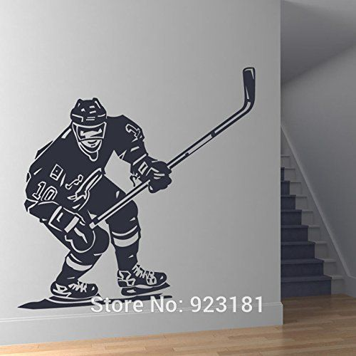 Les 25 meilleures id es concernant chambres th me hockey for Decoration chambre hockey canadien
