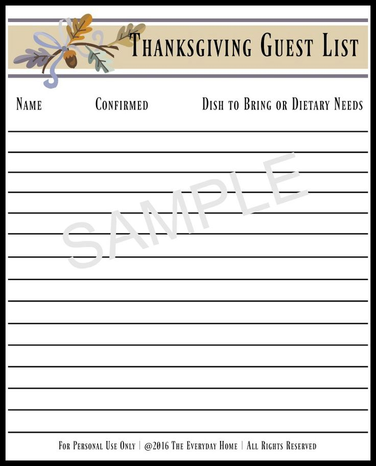 Sample Guest List Imagine Your Guests Being Able To Pull Up All The