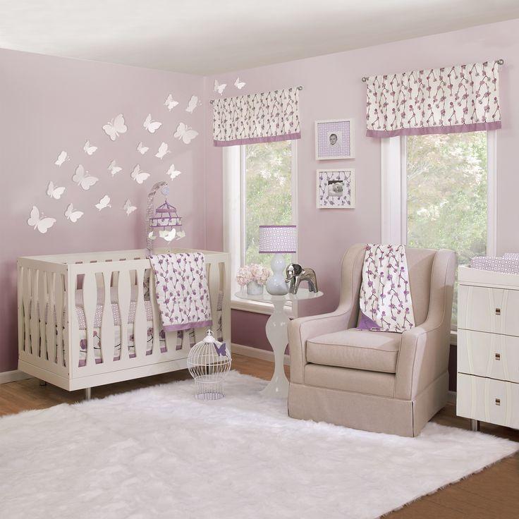 Luxury Petit Nest Sophie piece Girl Crib Bedding Set