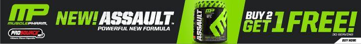 Assault - Reformulated Pre-Workout Matrix - Get 1 FREE!