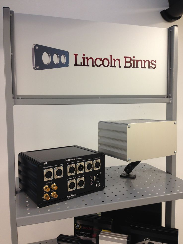 Our display unit at the factory