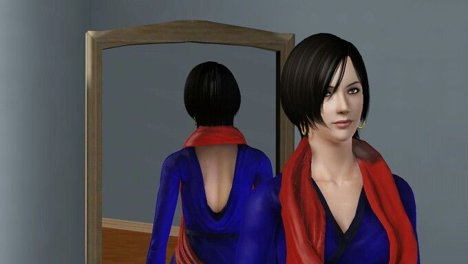 Ada Wong in The Sims 3