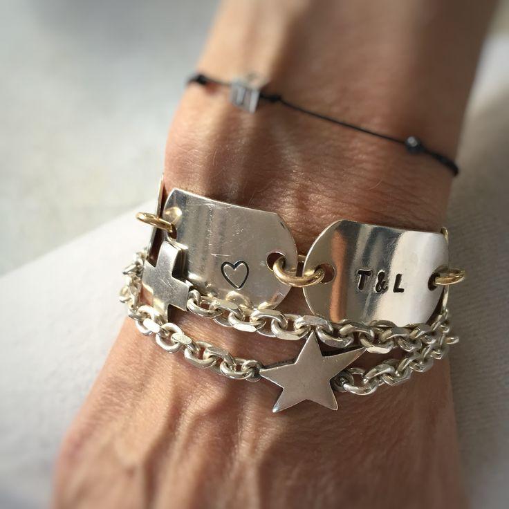 Timeline bracelet. Your personal story board❤️