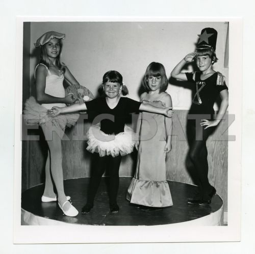 1960s-Photo-cute-little-girls-posing-in-costumes-fashion-models-m66332