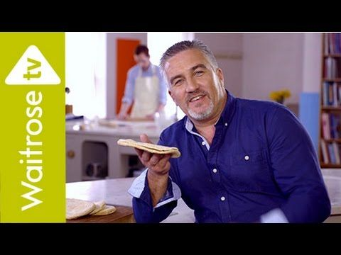 Get Baking with Paul Hollywood | Wholemeal Pitta Breads | Waitrose
