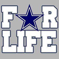 cowboys t shirts for women   For Life Cowboys T-Shirt * Dallas Cowboys, Funny Shirt