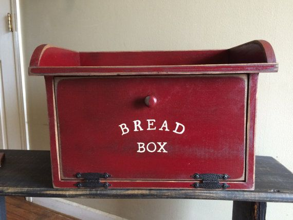 Hey, I found this really awesome Etsy listing at https://www.etsy.com/listing/227160645/primitive-bread-box