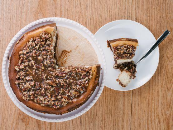 Make and share this Pecan Pie Cheesecake recipe from Genius Kitchen.