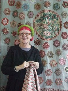 Quiltsmith Australia: Hexagons with Suzy Miller