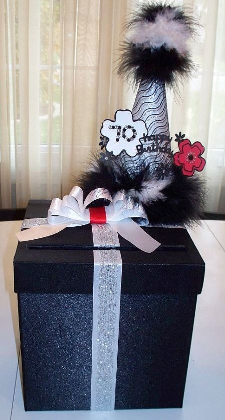 Birthday Card Box Money Gift Box Birthday Table
