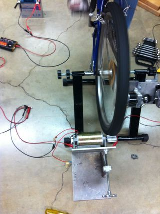 Using a few easily accessible parts, you can make a bicycle generator that can power various electronic appliances, such as laptops and batteries! Materials needed:...