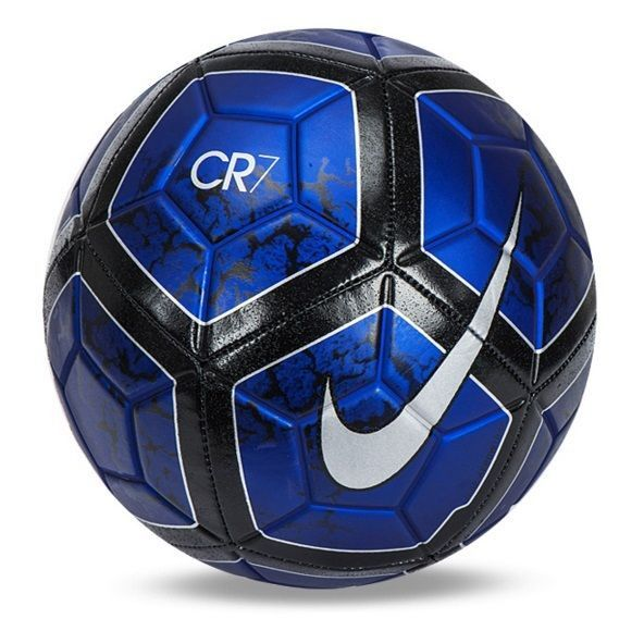 The CR7 Prestige Football DURABILITY AND PLAYER PRIDE The Nike Prestige CR7 Soccer Ball is made with a tough, machine-stitched TPU casing for long-lasting play. Contrast graphics provide high visibili