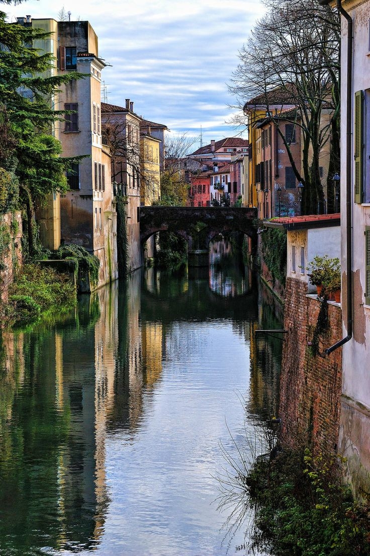Bridge on the River, Mantua, Italy