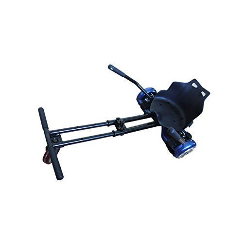 Adjustable Cool Mini Kart Style Accessories Kart Car Syle Adjustable Holder for 65Two Wheel Self Balancing Scooter Hover BoardsBlack Not Noly STANDCan be LIKE A GOKART >>> You can find out more details at the link of the image.