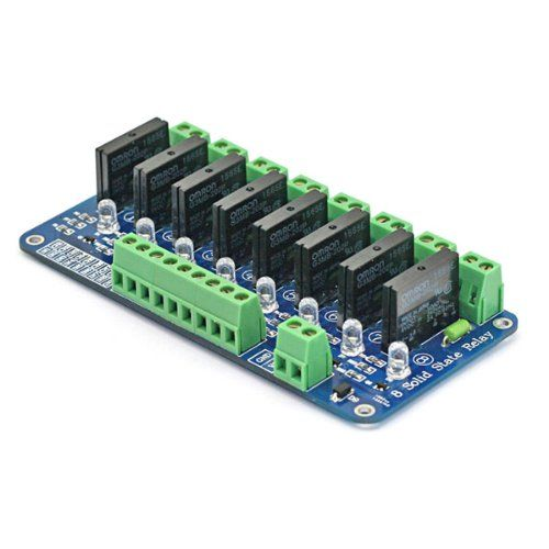 Sainsmart channel v solid state relay module board pour