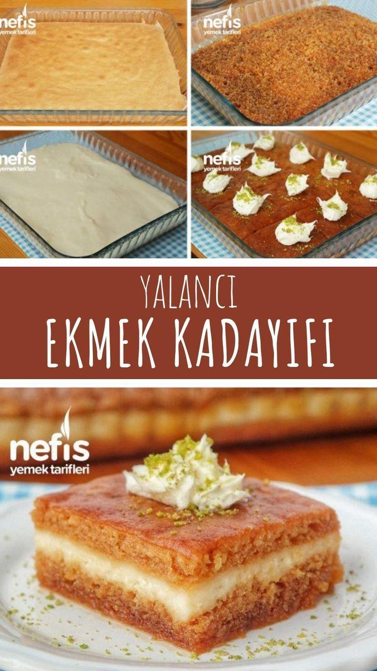 Wie man Brot Kadayif machen? (mit Video) Leckere Rezepte, #Brot #Ka … – Şerb …   – haushaltswaren