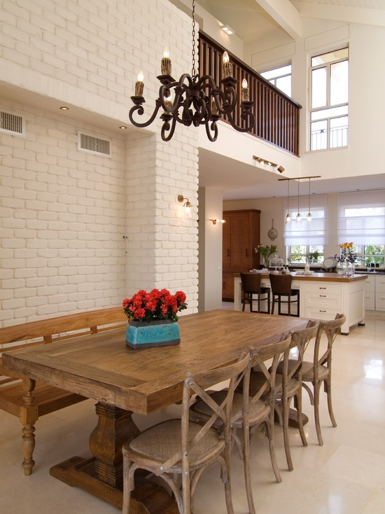 Farmhouse Dining Table Design Pictures Remodel Decor And Ideas