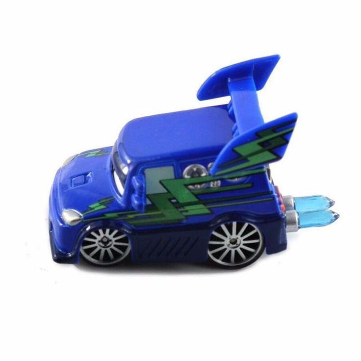 Pixar Cars dark blue 2 DJ Diecast Metal Classic Toy for Kids Children Toy Car 1:55 brinquedo para meninos automodelismo toys