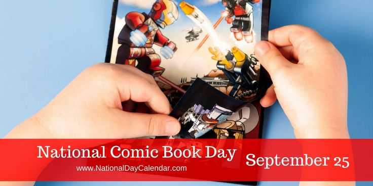 A comic book collector is known as a pannapictagraphist - National Comic Book Day via @nationaldaycal