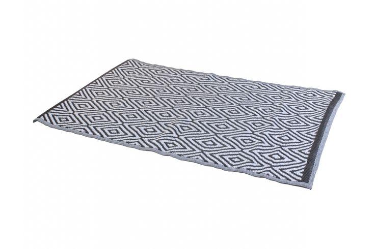 Vloerkleed polyester 120 x 180 cm