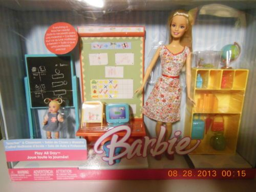 Barbie Forever Play All Day Teacher Clroom Playset Hy Family Pinterest 2000 And Playsets