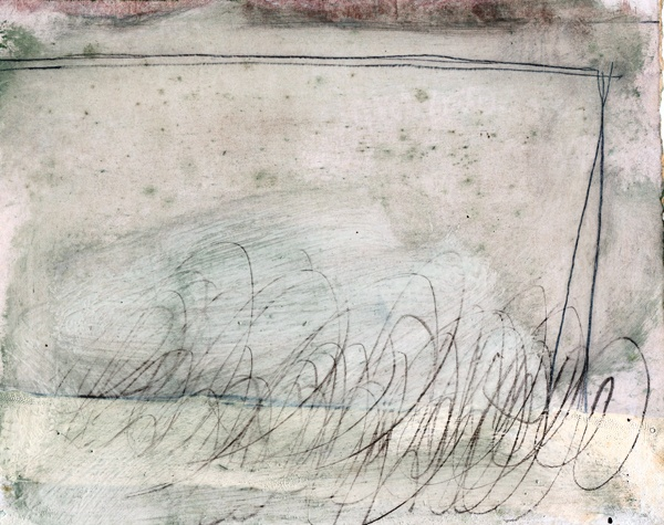 Helen Booth, Untitled, (Sketchbook Drawing), oil and graphite