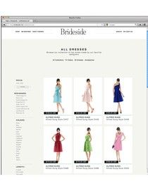 The Newest Site for Brides To Be.....Brideside - find the perfect Bridesmaid Dresses!