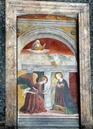Melozzo da Forlì, Annunciazione, affresco,XV secolo